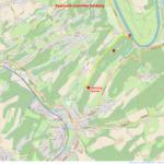 Climbing Spot Isenberg Overview Map Approach