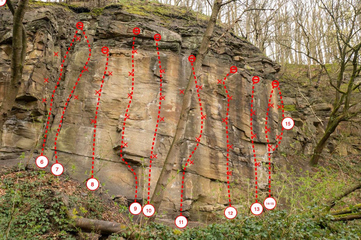 Climbing Muttental Sector Hauptwand New2