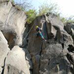 Climber in the Eifel