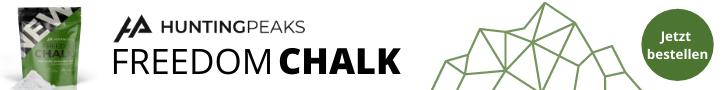 HuntingPeaks Chalk Banner